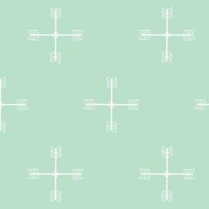 Arrow cross Mint