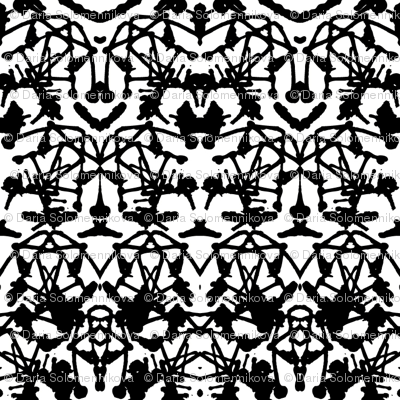 Rorschach print