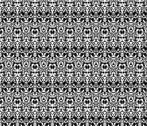 Rorschach print fabric by daria_rosen on Spoonflower - custom fabric