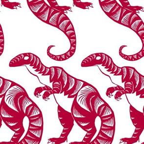 Dinosaur Paper Cut