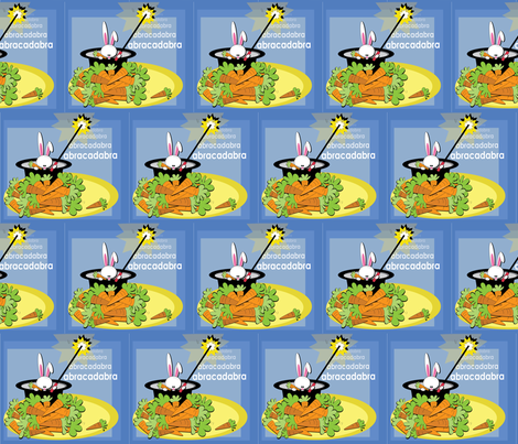 Wabbit Wishes fabric by lainy_michelle on Spoonflower - custom fabric