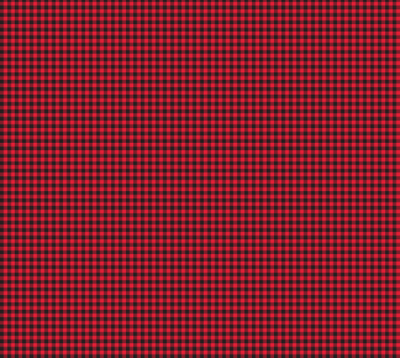Classic Flannel- Faux Woven Gingham fabric by lilliputianlane on Spoonflower - custom fabric