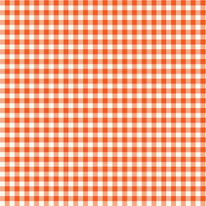 Orange & Vanilla Gingham