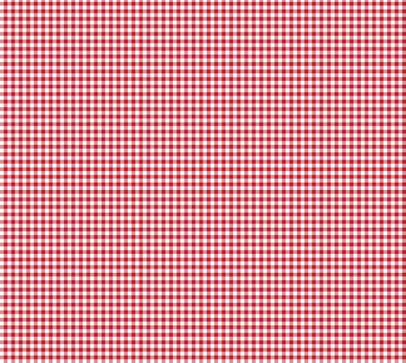 Cherry Gingham fabric by lilliputianlane on Spoonflower - custom fabric