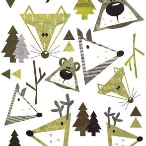 Wobbly Woodland - mossy