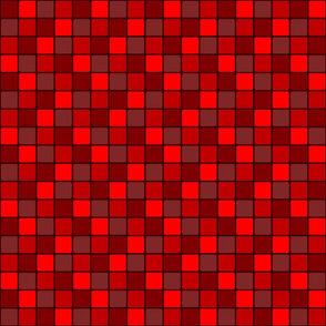 Berry Red Mosaic