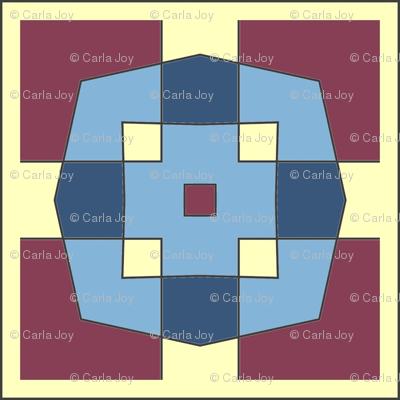 CJC Quilt Color Block