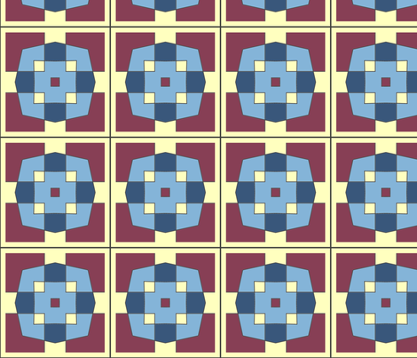 CJC Quilt Color Block fabric by carla_joy on Spoonflower - custom fabric