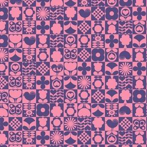 Floral Tiles IV