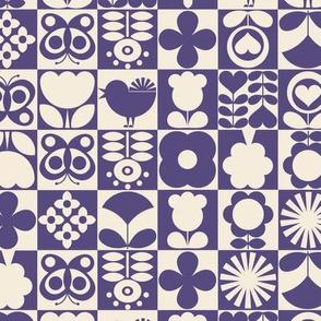 Floral Tiles V