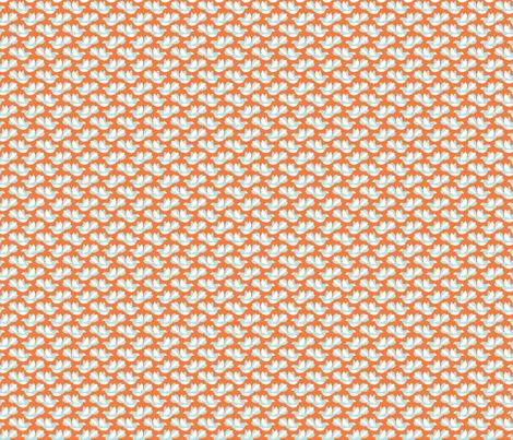 Flying Birds II fabric by studio_amelie on Spoonflower - custom fabric