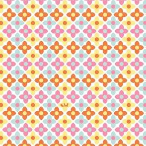 Tiles Flowers II