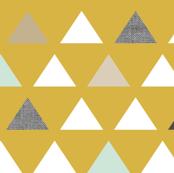 Mod Mustard Triangles