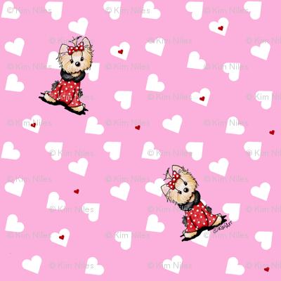 My Yorkie Valentine
