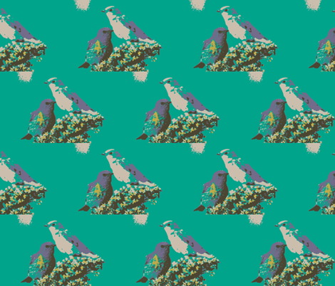Nature in Color  fabric by shy_bunny on Spoonflower - custom fabric