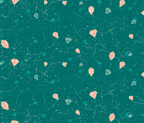 DiamondSkyTrueAck fabric by narthex on Spoonflower - custom fabric