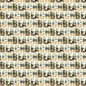 Word Fabric: Beach Letters