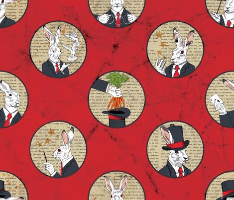 AbracadRabbits! fabric by juliesfabrics on Spoonflower - custom fabric