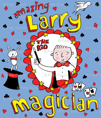 'Amazing Larry' the kid Magician!