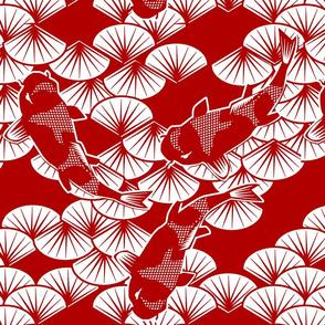 koi papercuts
