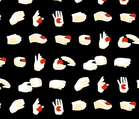 Sleight of Hand fabric by mongiesama on Spoonflower - custom fabric