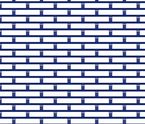 Bluee_Box_Broken_Stripes_wide_-_med fabric by morrigoon on Spoonflower - custom fabric