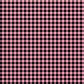 Burnt Cotton Candy Gingham