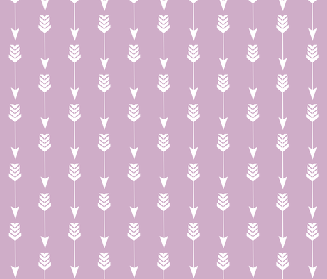 Arrow in Rose fabric by thistleandfox on Spoonflower - custom fabric