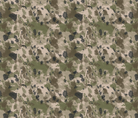 WWI Battlefield Trench Camo fabric by ricraynor on Spoonflower - custom fabric