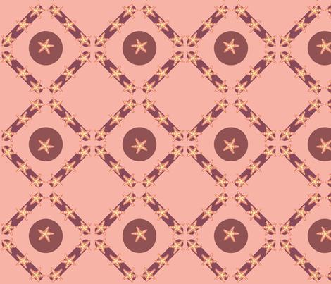 Starfish2 fabric by bfloyd on Spoonflower - custom fabric