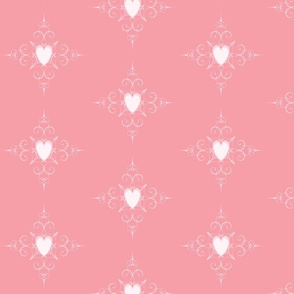 Pink Heart Pattern