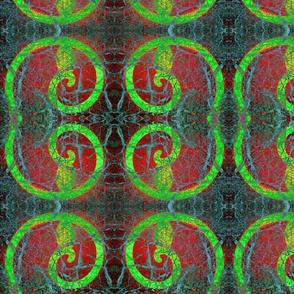 botanical spiral - cobweb