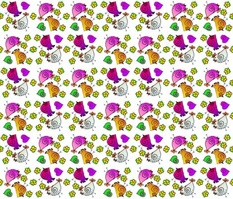 Plasma Fowl fabric by missourah_gal on Spoonflower - custom fabric