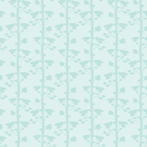shadow trees fabric by keweenawchris on Spoonflower - custom fabric