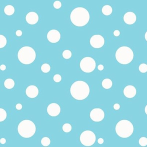 Tiffany Blue Polka