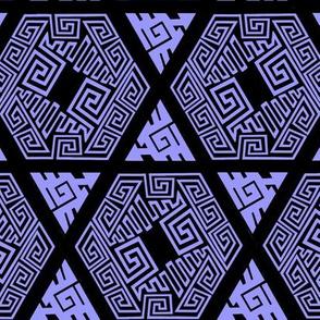 Zentangle Twisted Fret 9997fc