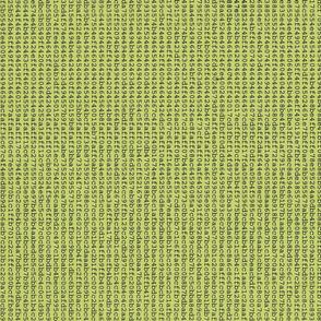 Number Error green