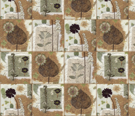 Natural Elements Decals fabric by mypetalpress on Spoonflower - custom fabric