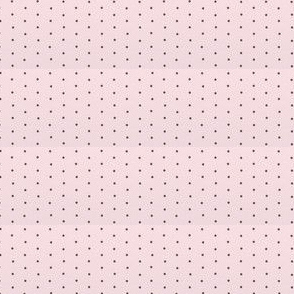 pink and brown polka dot