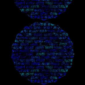 Stain Glass Brick Mosaic