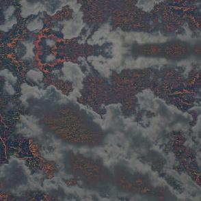 Above Cloudy Opal Lights