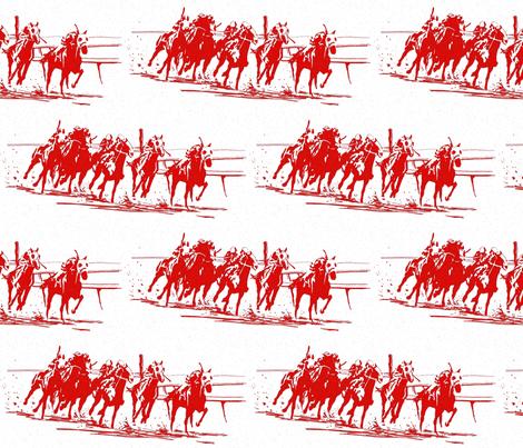 Race_red_toile_1500 fabric by joysmom on Spoonflower - custom fabric
