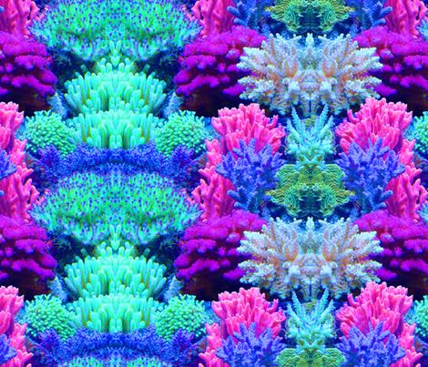ReefprintOnGrain fabric by shmoopie22 on Spoonflower - custom fabric