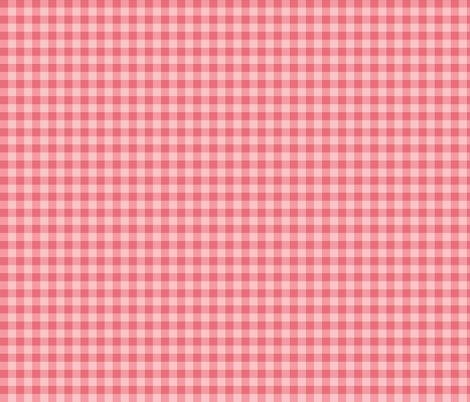 Pink_Gingham_Checks fabric by lana_gordon_rast_ on Spoonflower - custom fabric
