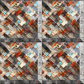 Urban Fragments Handwoven #3 - ver 1