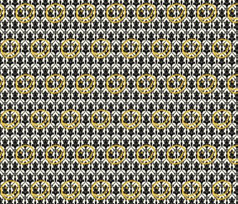 Sherlock Wallpaper W/ Spraypaint Smiley Face fabric by psyche1226 on Spoonflower - custom fabric