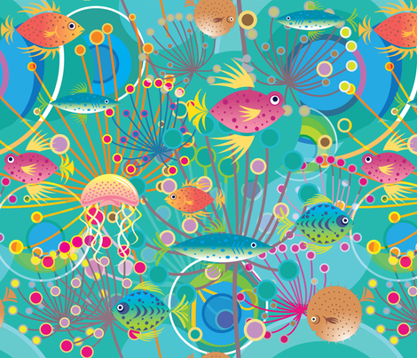 ColleenFishSmaller fabric by colleen_currans_bush on Spoonflower - custom fabric