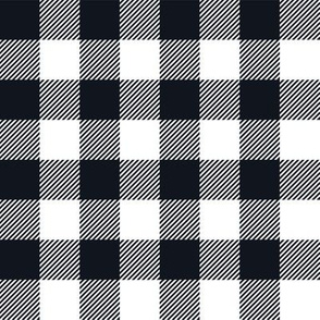 Gingham BLK One