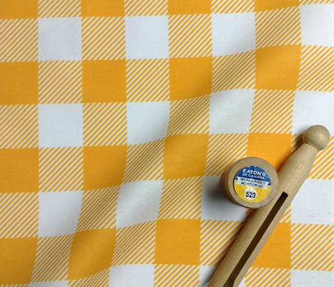 Gingham Yellow one