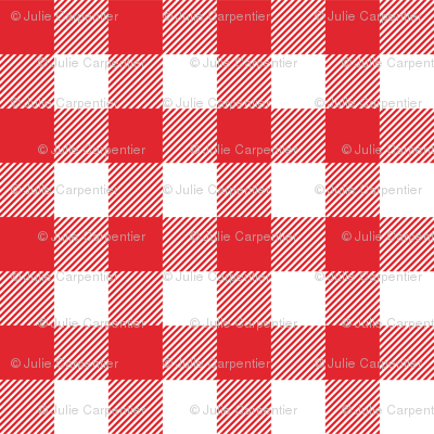 Gingham RED One